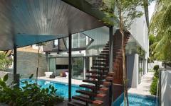 agencement architecture originale maison originale singapour