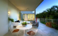 terrasse maison d'architecte luxe