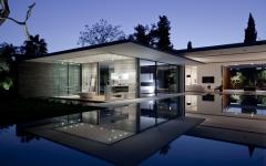 Floating house maison d'architecte contemoraine