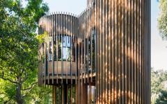 belle demeure en bois architecture atypique