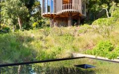 maison d'amis propriété maison en bois insolite atypique