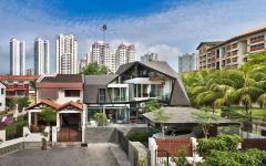 rénovation belle maison jumelée architecte luxe