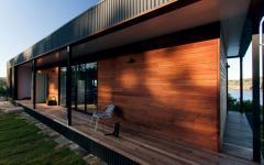 maison modulaire en bois chemin de propreté