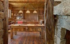 intérieur rustique bois