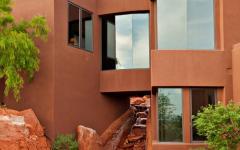 résidence désertique d'architecte