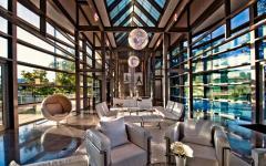 séjour moderne maison contemporaine