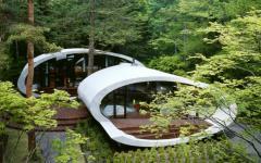 résidence moderne d'architecte originale