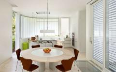 salle à manger maison citadine écologique