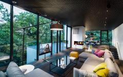 séjour maison rénovée moderne vitré