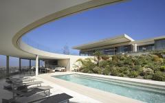 piscine terrasse outdoor contemporain