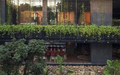 architecture créative grande belle demeure écologique verte