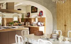 cuisine coin repas rustique toscane maison