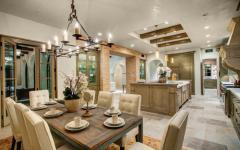 influence rustique cuisine moderne luxe