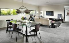 principale pièce de vie séjour salon salle à manger moderne