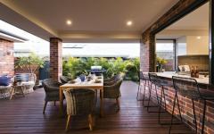 magnifique ouverture et espace maison nature verte