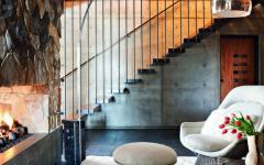 style industriel et rustique maison de luxe