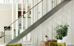 mobilier design vert sympa intérieur maison de vacances
