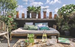 assises meubles extérieurs jardin terrasse d'appartement ville paris