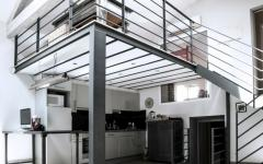 cuisine mezzanine loft