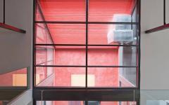 patio maison de ville luxe loft industriel