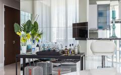 intérieur lumineux appartement luxueux