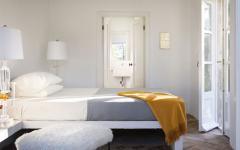 chambre à coucher ameublement minimaliste