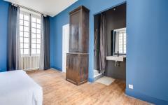 salle d'eau chambre ancienne rénovée