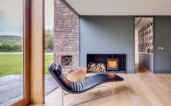 séjour moderne luxe haut standing maison familiale secondaire
