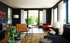 salon assises designer maison moderne