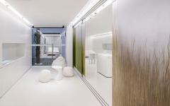 intérieur logement futuriste design appartement d'architecte