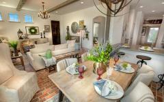 mobilier table chaises salle à manger rustique