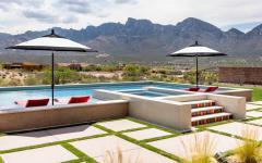 piscine jacuzzi hors sol luxe