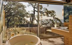 salle de bain design luxe vue mer