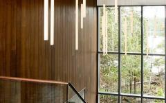 maison en bois secondaire lambris intérieurs