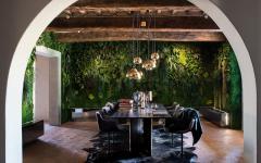 salle à manger rustique idée déco originale