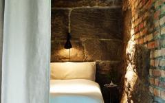 murs rustique en brique maison contemporaine