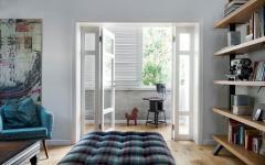 assise moderne design british appartement rénové