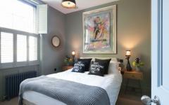 chambre à coucher décoration sympa