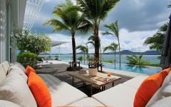 terrasse salon vacances exotiques luxe