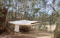 hamac maison de vacances rétro hippie