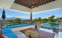 espaces outdoor villa de luxe exotique