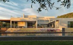 résidence contemporaine de luxe vacances exotiques