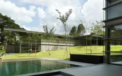 Maison contemporaine Singapour exception