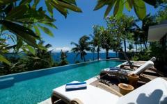 outdoor piscine exotique vue mer