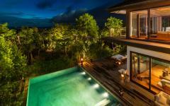 terrasse design maison de vacances prestige