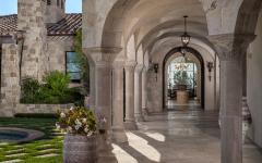 extérieur belle demeure de luxe pierre
