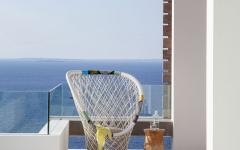 villa de luxe avec vue sur la mer Ibiza