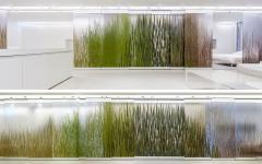 panneaux coulissants appartement de ville futuriste design minimaliste