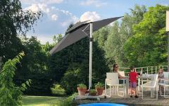 jardin parasol anti-uv toile