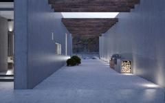 architecture résidentielle minimaliste industrielle